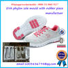 2 Colors EVA Outsole Mold With Rubber Pieces Sport Shoe Mould Maker