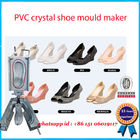 High Heel PVC Shoe Mold White Pink Multi Colors Footwear Mold